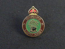WLA Womens land army Gold Plated classic lapel Badge
