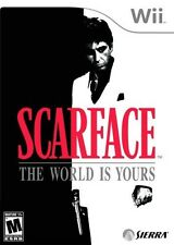 Scarface: The World is Yours (Nintendo Wii, 2007) -- FREE SHIPPING!!