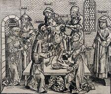 Ritualmord, Simon von Trient, Blatt CCLIIII Schedel Weltchronik 1493, gerahmt