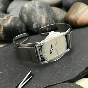 """5/8"""" Don Juan Stainless Steel Service Model Cuff Small nos Vintage Watch Band"""