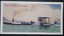 Supermarine Southampton  & Royal Navy Tug  Portsmouth   Vintage Colour Card