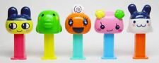 TAMAGICCHI MINI PEZ SET OF 5 FROM JAPAN - 28TH OF 49 - 3/2006 - LOOSE