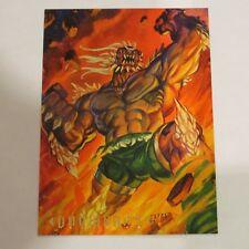 1994 Skybox DC Master Series Doomsday Promo