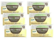 6 Pack Miracle Noodle OGRANIC FETTUCCINI Keto & Paleo Friendly PLANT BASED Pasta
