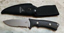 GERBER Knives  BIG ROCK FIXED BLADE HUNTING KNIFE  W/ NYLON SHEATH NEW