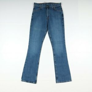 Jeans Levi's 646 Bell Bottoms Jeans (NV131) W32 L36 Nuovo Deadstock Unisex