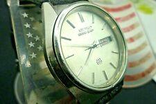 Mens 36mm SEIKO GRAND QUARTZ  Twin 9923-8010  5j Vintage 1978 Quartz Watch