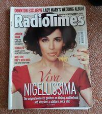 RADIO TIMES 22-28 SEPTEMBER 2012 NIGELLA LAWSON KATE AND WILLS NICK GRIMSHAW