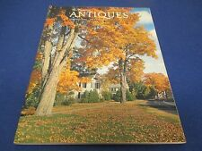 The Magazine Antiques, October 1972, Avon, Connecticut, photo by S. Chamberlain