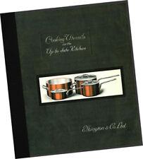 Elkington Co 1932 Cooking Utiensils CATALOG Kitchen Restaurant Pots Pans COPPER