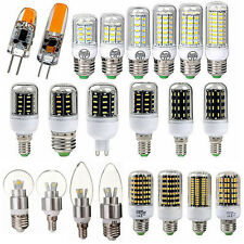 E27 B22 E14 9W 15W 20W 30W 5730 4014 2835 SMD LED Bombilla Maiz Light Vela Globe