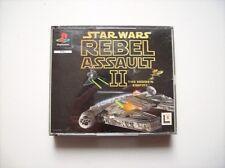 Star Wars Rebel Assault II ps1 PlayStation 1