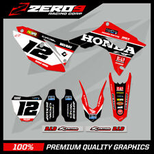 HONDA CR125-250 2004-2007 CRF250-450 2004-2020 MOTOCROSS MX GRAPHICS KIT SE1
