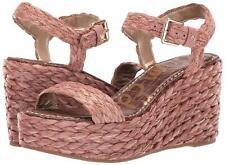 Women's Sam Edelman Deena Wedge,Ptatform Sandal / Soft Pink, Size 7.5,New in Box