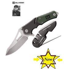 Mikkel Willumsen pocket knife and Lansky Sharpener Combo Free Shipping