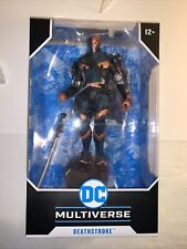 McFarlane DC Multiverse Batman Arkham Origins Deathstroke 7? Action Figure NEW
