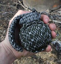 Survival Strap Grenade Bug Out Bag M-550 Pro Tactical Camo Paracord Kit