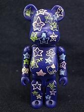 Medicom Toy x 7-11 Net AKB48 100% Be@rbrick Bearbrick Figure Blue Version Mint