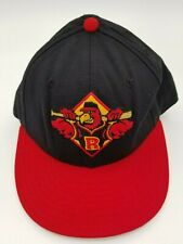 Vintage Rochester Red Wings New Era Fitted Hat Deadstock Rare 7 90's 5950