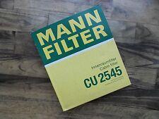 MANN Filter Innenraumfilter Pollenfilter CU 2545