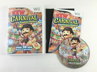 New Carnival Games Nintendo Wii Game | Complete with Manual | MINT Condition PAL