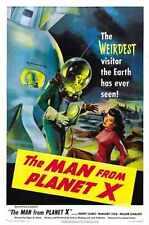 Man From Planet X Poster 01 Metal Sign A4 12x8 Aluminium