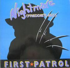 "FIRST PATROL - NIGHTMARE (FREDDIE'S MIX)  - 12"" SINGLE 45 RPM"
