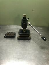 Manual 96 Well Plate Press Puncher
