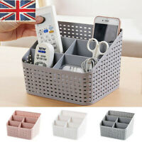 Multi-function 5 Grid Cosmetic Organizer Makeup Desktop Storage Box Organizer JU