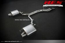 RES Valvtronic Catback 2 Tips EachSide FOR Audi A7 C7 2012- 1.8/2.0/2.5/2.8/3.0T