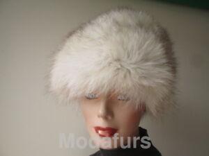 """Women's Fox Fur Hat Sz 22"""" MINT"""