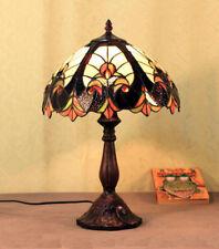 Tiffany Glas Tiffanylampe Tisch Lampe  Tischlampe  GN 05