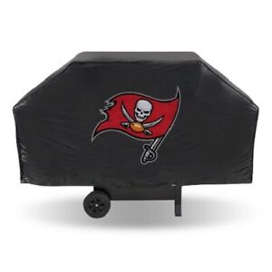 """TAMPA BAY BUCCANEERS ECONOMY GRILL COVER DURABLE VINYL 68"""" BBQ COVER"""