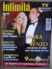 INTIMITA' n°26 1996 Mara Venier Renzo Arbore - con inserto  [D11]