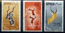 SOMALIA AFIS 1958/9 - POSTA AEREA ANIMALI Serie nuova **