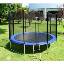 14FT Trampoline Kids Adults with Enclosure Net Indoor Outdoor Trampoline