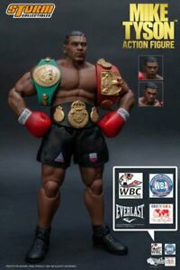 Storm Collectibles Mike Tyson 1/12 Scale Action Figure 3 Head in Box Gift