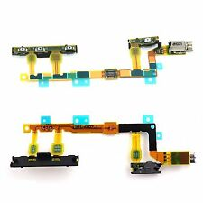 NEW Replacement Power Volume Button Flex & Vibrator  For Sony Xperia Z3 Compact