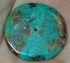 26.5mm Rare Antique Indo - Tibetan, Tibet Turquoise bead, #S2170