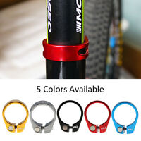 34.9mm Bike Bicycle Quick Install Seat Post Seatpost Clamp Aluminium Alloy JS