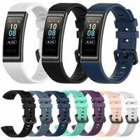 Para Huawei Band 3 Pro Tracker Pulsera Correa Silicona Reemplazo Watchband Strap
