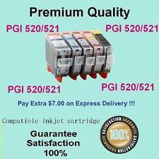 5 x Ink Cartridge PGI520 CLI 521 for Canon MP550 MP980 MP540 PIXMA IP3600 IP4700
