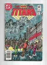 NEW TEEN TITANS #22 #23 #24 #25 #26 & Keebler Drug Special 1-shot 1st TERRA , DC
