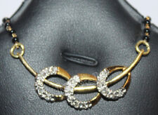 0.45cts ROUND DIAMOND &14k GOLD WEDDING ANNIVERSARY MANGALSUTRA