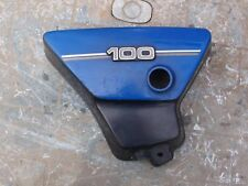 Yamaha 1970s YB100 side panel blue