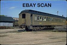 ORIG SLIDE Rutland Railway MofW coach X-616 Original Kodachrome slide proces
