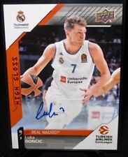 2018 Upper Deck LUKA DONCIC Rookie AUTO Basketball Card Real Madrid #1 PSA 10?