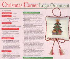 Christmas Logo Ornament XS Magazine Pattern - Beaded Christmas Tree Ornament