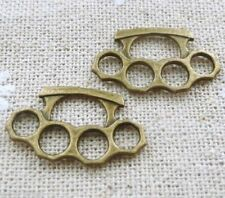 Brass Knuckle Dusters One Pair Jewelry Pendant Charms Buy 2 & get 1 free