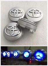 Toyota Light Up Floating Hub Spinning Wheel Rim Center Caps